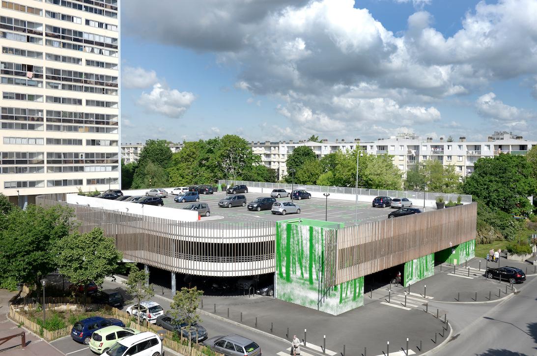 R alisation de la construction d un parc de stationnement for Projet de construction