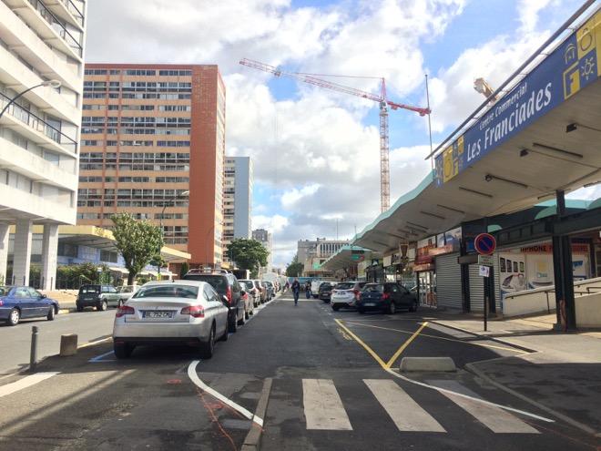 quartier franciades 38 nouvelles places de stationnement dans le quartier des franciades. Black Bedroom Furniture Sets. Home Design Ideas
